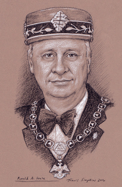 Ronald Seale. Past Sovereign Grand Commander. Scottish Rite, SJ. by Travis Simpkins