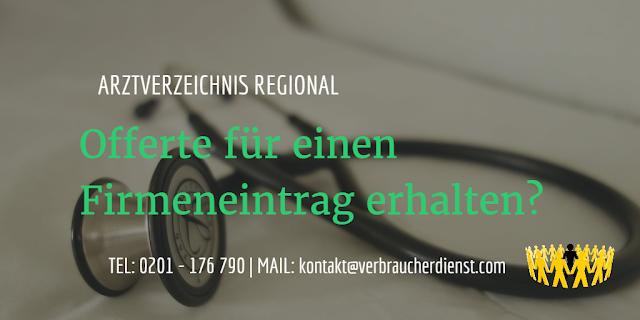 Arztverzeichnis Regional, München: Offerte für einen Firmeneintrag erhalten?