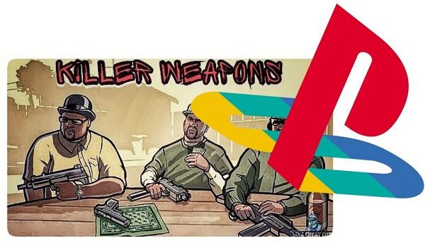 Weapons Cheats Code of GTA San Andreas