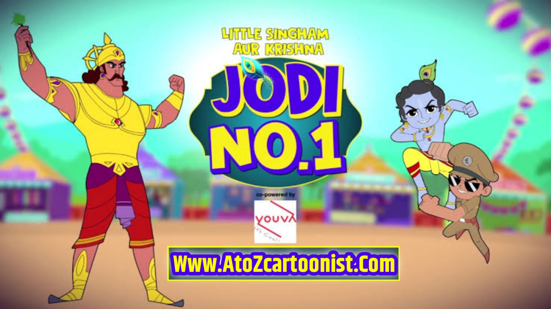 LITTLE SINGHAM AUR KRISHNA : JODI NO.1 FULL MOVIE IN HINDI DOWNLOAD (480P HQ)