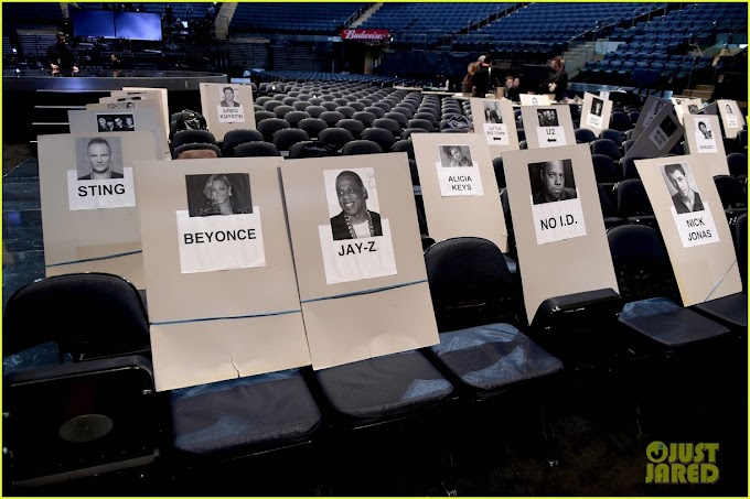 Grammys 2018 Seating Revealed - See who's seating close to your favourite celebrity (Photos)
