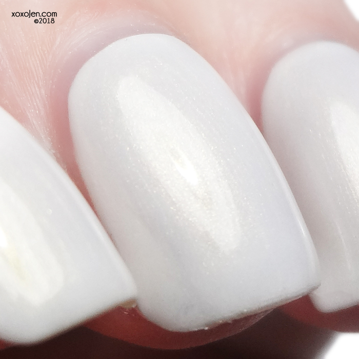 xoxoJen's swatch of Lollipop Posse Lacquer Some Say in Ice