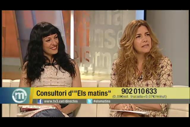 """""""M'agrada el sexe!"""" visita Els Matins de TV3"""