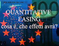 cosa è il quantitative easing, che effetti avrà sull'economia europea