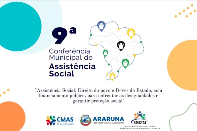 Prefeitura de Araruna realiza 9º Conferência Municipal de Assistência Social