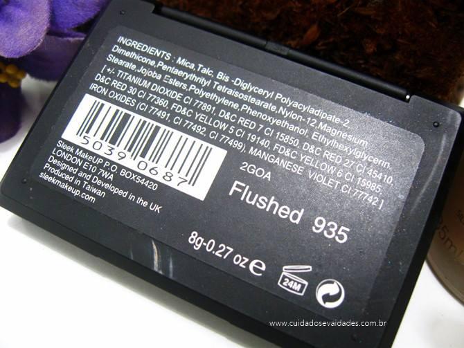Blush Sleek flushed 935