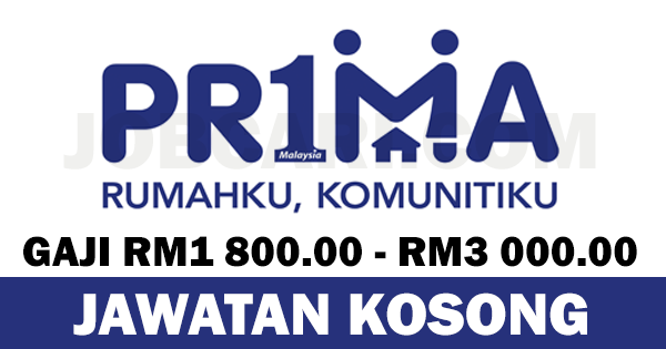 JAWATAN KOSONG PERBADANAN PRIMA MALAYSIA