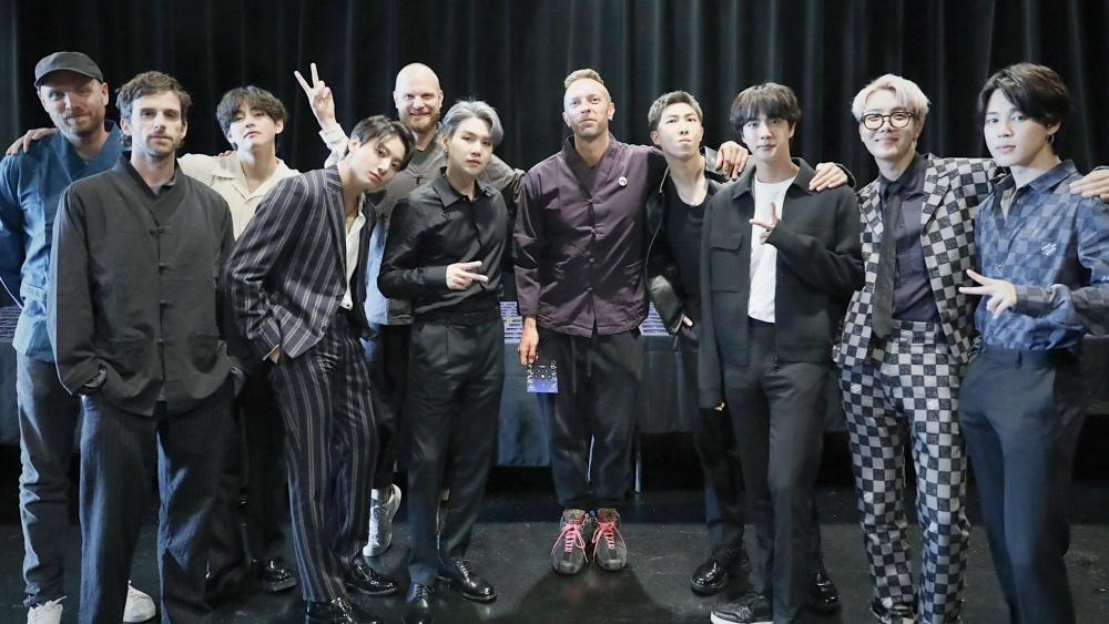 Coldplay and BTS' 'My Universe' Stays on The Billboard Hot 100 Chart