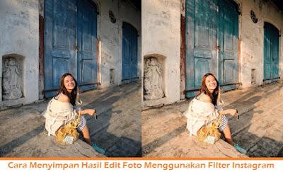 Cara Menyimpan Hasil Edit Foto Menggunakan Filter Instagram (Termudah.com)