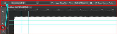 option bar photoshop