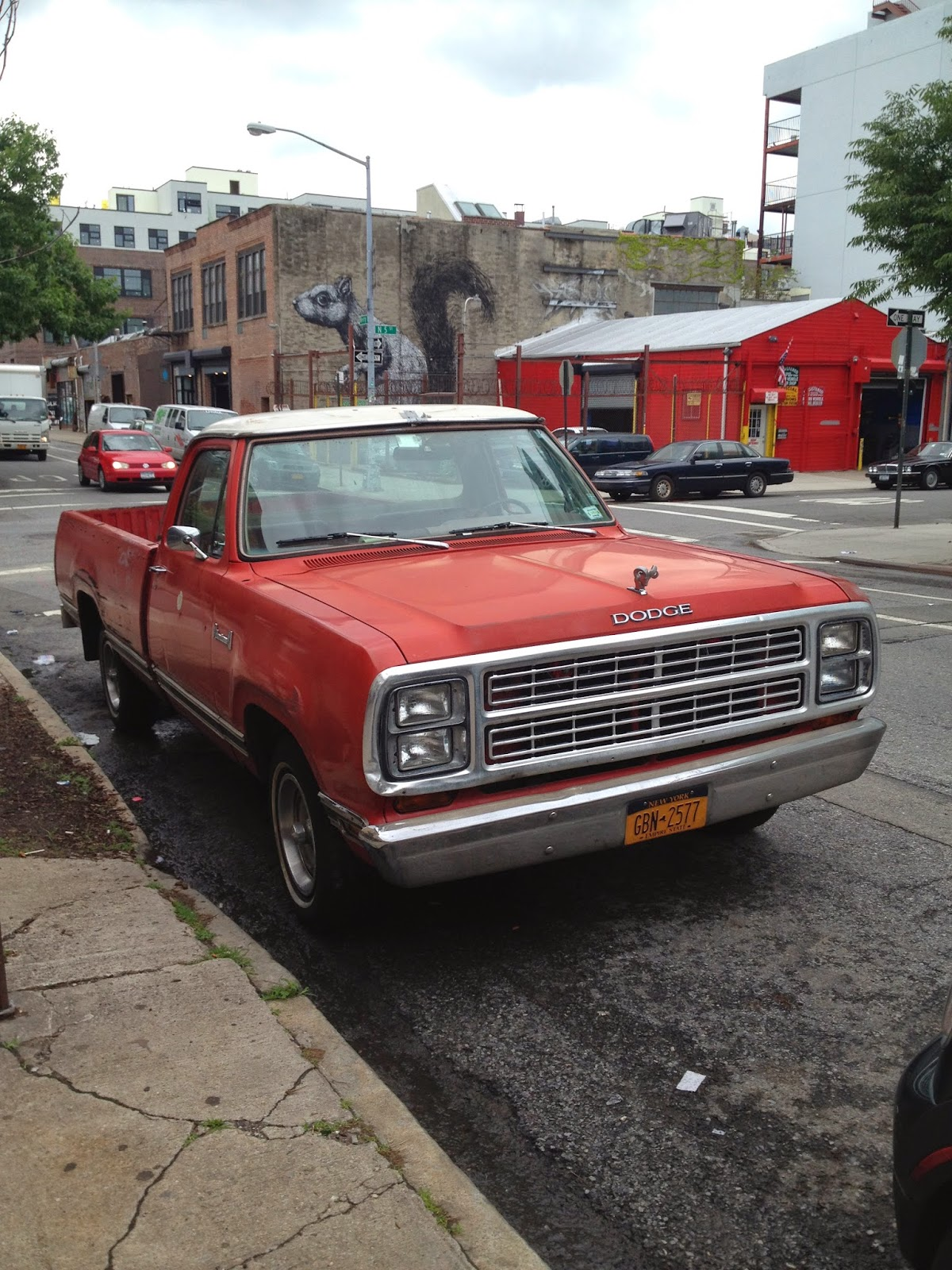 Nyc Hoopties Whips Rides Buckets Junkers And Clunkers Grabbing 1961 Dodge Pickup Truck The D Series Trucks Were Built Between 1980 Meaning That This Is One Of Last Its Kind After Name Changed To Ram
