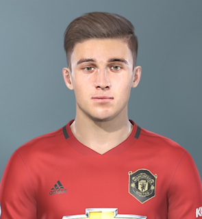 PES 2019 Faces Daniel James by Sofyan Andri