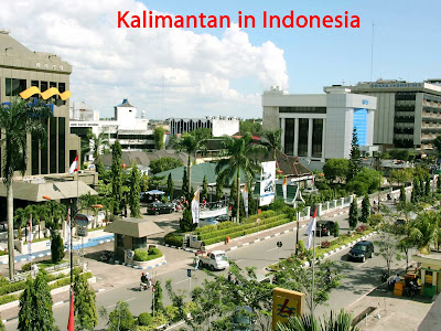 Kalimantan in Indonesia