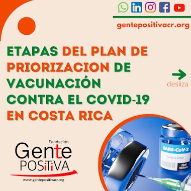 Plan de priorización de vacunación contra el #Covid19 en Costa Rica