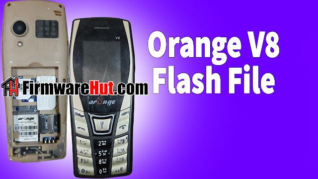 Orange V8 Flash File without password