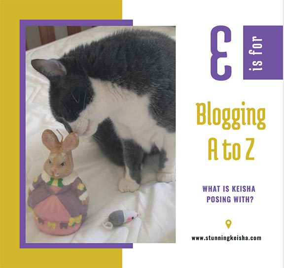 Blogging From A to Z: E is for …