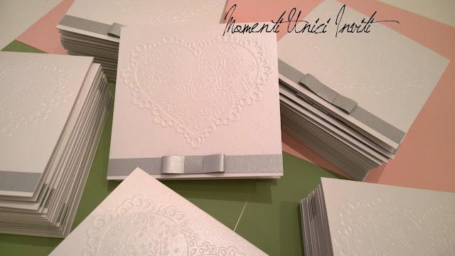 4 ... il Mod. Romantiche Atmosfere di Giuseppe e GiusyColore Argento Colore Bianco Tema cuori