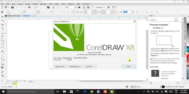 Spesifikasi PC CorelDRAW X8