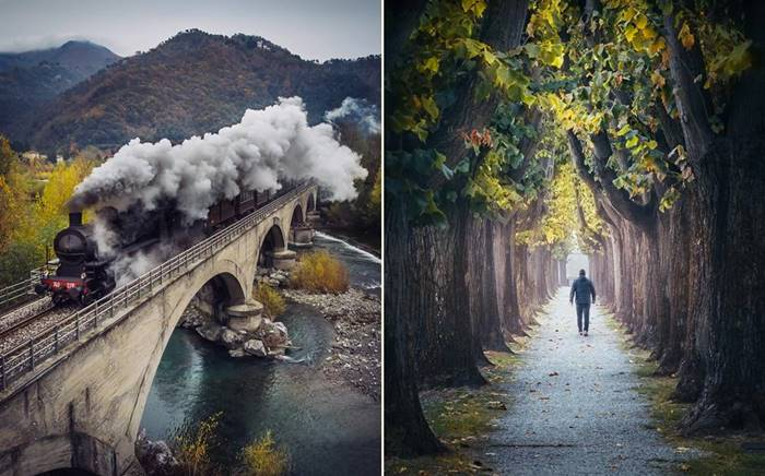 Wonderful landscapes of Italy by Max Lazzi