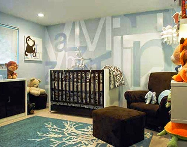 painting ideas for baby boy room