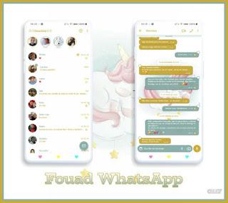 Unicornio Theme For YOWhatsApp & Fouad WhatsApp By Graciela