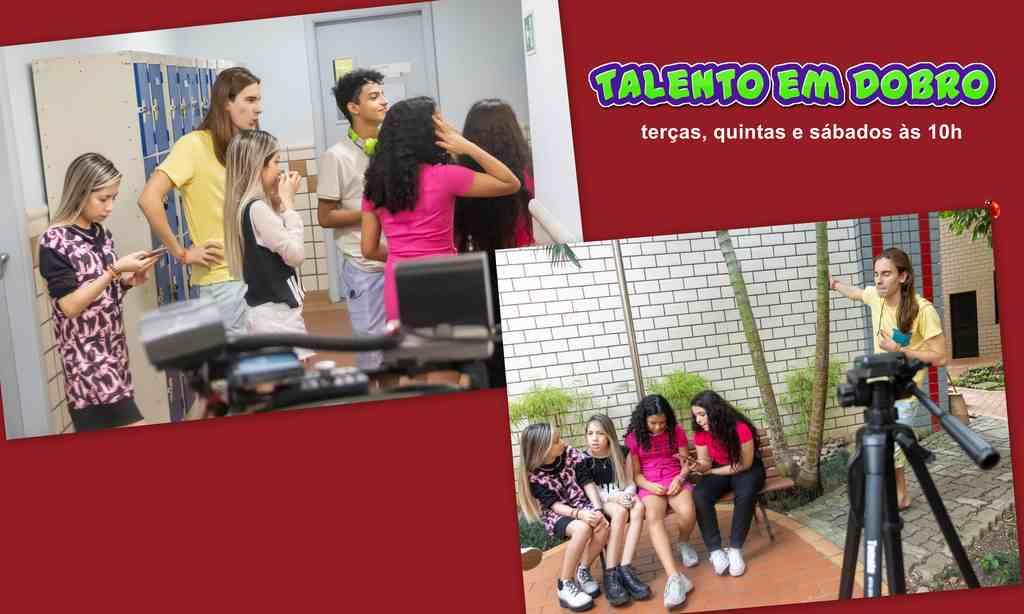 """""""Talento em Dobro"""", do canal do YouTube Planeta das Gêmeas, com mais de 13,5 milhões de inscritos"""