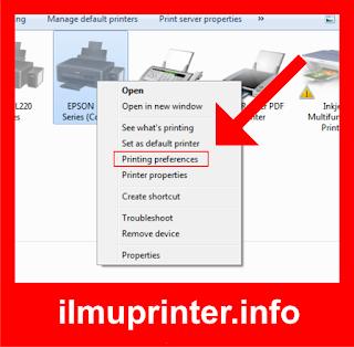 cara mengetahui jumlah total cetak pada printer epson dengan mudah