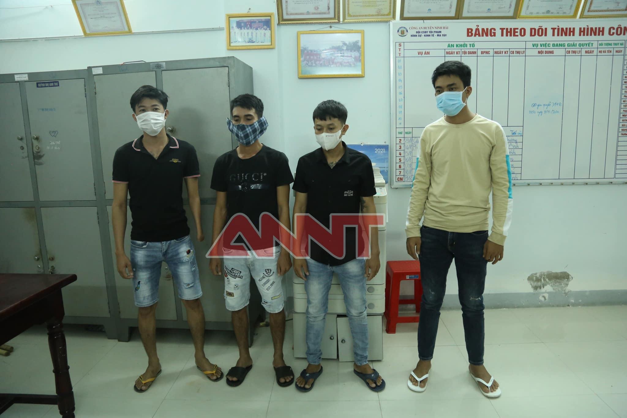 Công an huyện Ninh Hải: triệt phá băng nhóm cho vay lãi nặng ở xã Tri Hải