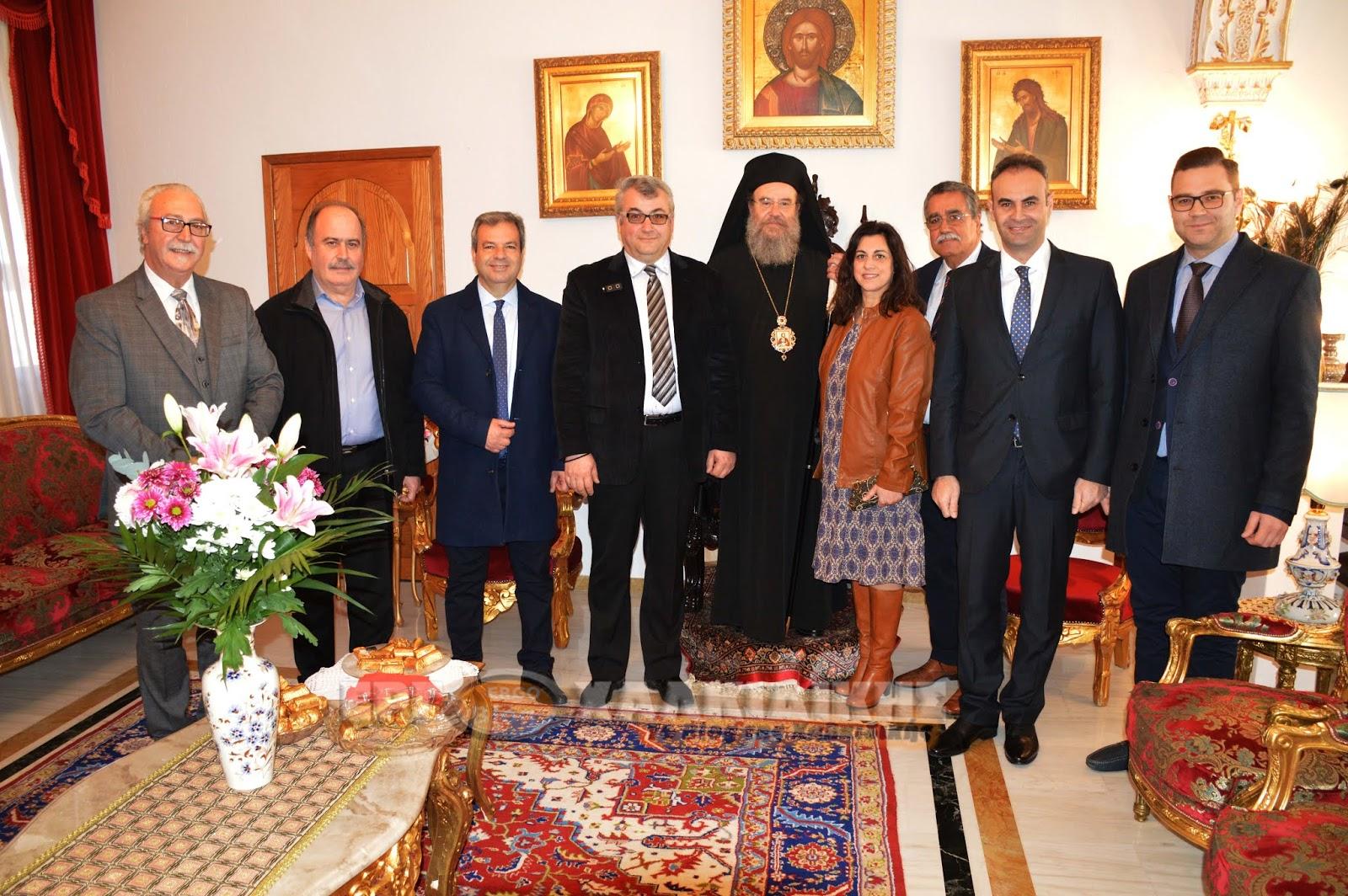 Τα Ονομαστήρια του Μητροπολίτου Ιερισσού, Αγίου Όρους και Αρδαμερίου κ.κ. Θεόκλητου (φώτο βίντεο)