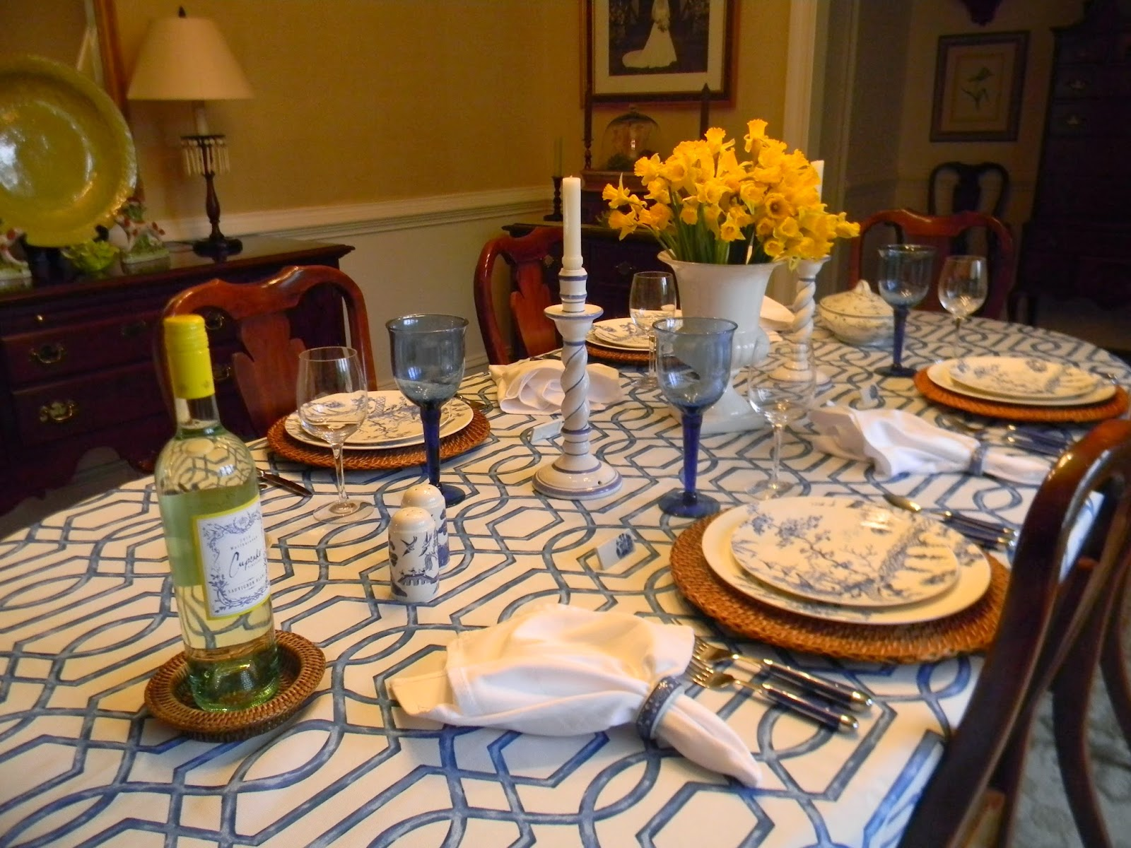 A Toile Tale: Welcome Spring!