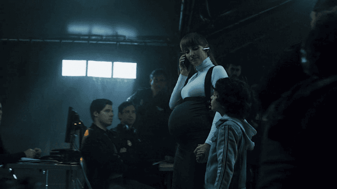 Is Berlin the father of Alicia's baby in La Casa De Papel?