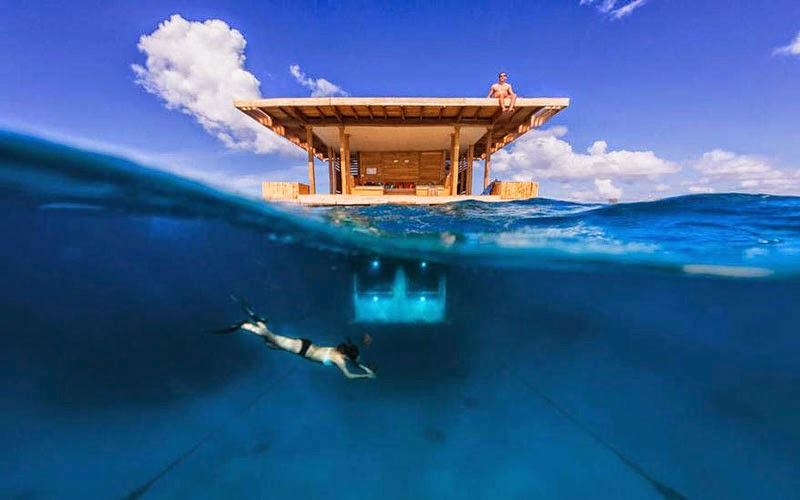 1. The Manta Resort, Zanzibar - 10 Amazing Hotels You Need To Visit Before You Die
