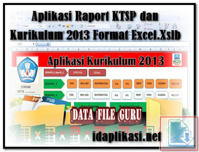 Unduh Aplikasi Raport SD Revisi Kurikulum 2013 Microsoft Excel