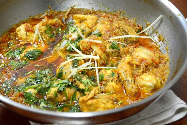 Pakistani Street Style Chicken Kadai