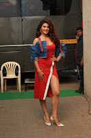 Jacqueline Fernandez Spicy Bollywood Actress in Red Dress Spicy  Exlcusive Gallery Pics (4).JPG