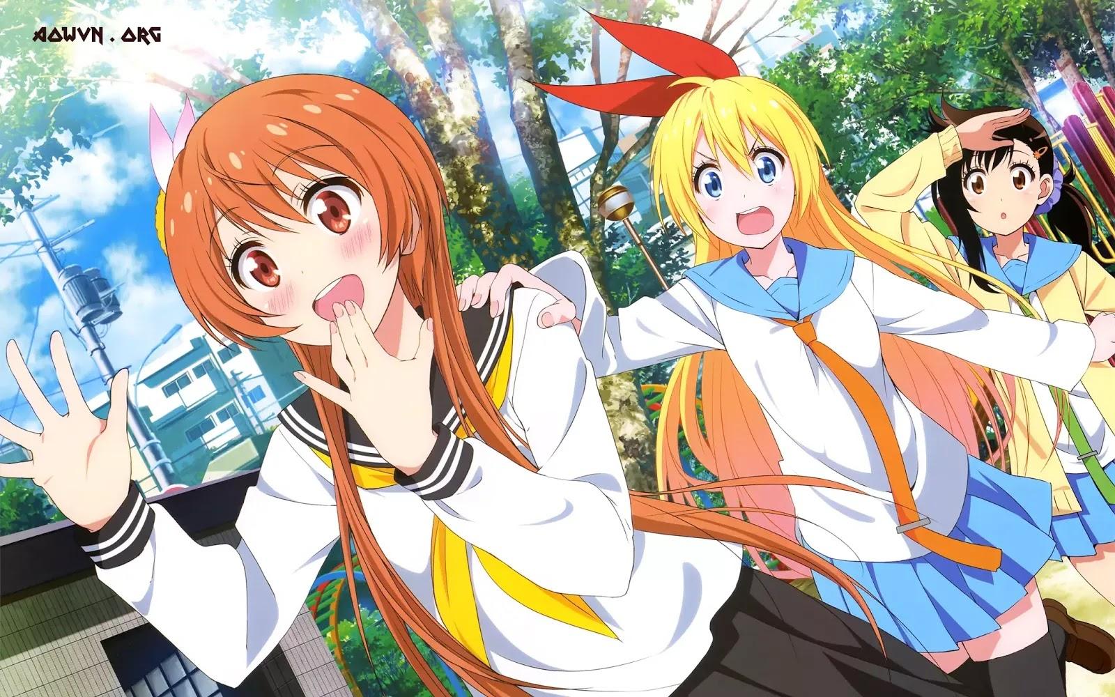 AowVN Nisekoi%2B%25283%2529 - [ Anime 3gp Mp4 ] Nisekoi BD SS1 + SS2 + OVA | Vietsub - Tình Cảm Hài Hước Cực Hay