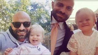 Ανύπαντρος πατέρας υιοθετεί παιδί 2 ετών με σύνδρομο Down που είχαν απορρίψει 20 οικογένειες