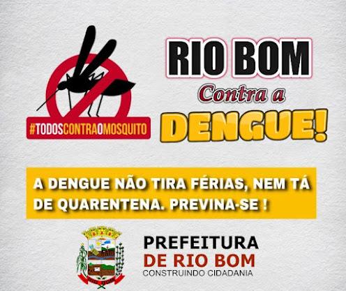 RIO BOM - COMBATE A DENGUE