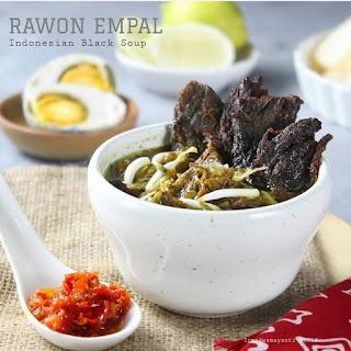 Resep Rawon Empal By @irmadesmayanti