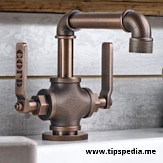 rustic bathroom faucet ideas