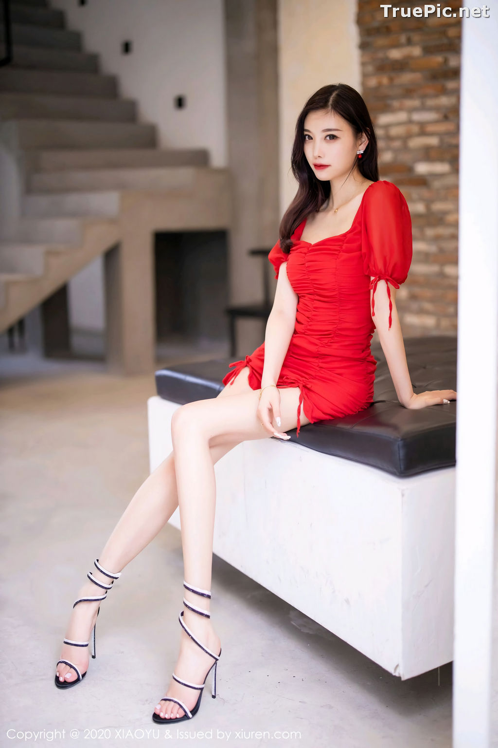 Image XiaoYu Vol.326 - Chinese Model - Yang Chen Chen (杨晨晨sugar) Sexy With Red Bodycon Dress - TruePic.net - Picture-6