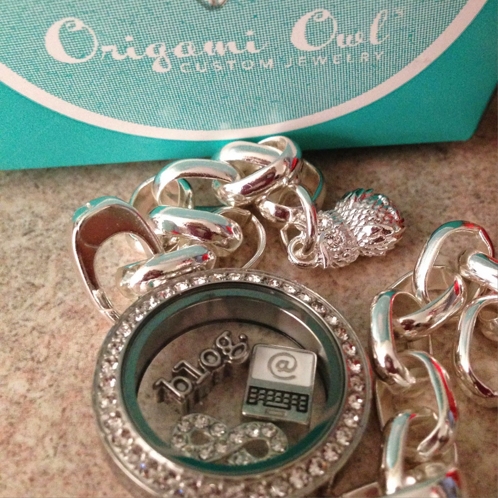 Blogging Bracelet from Origami Owl