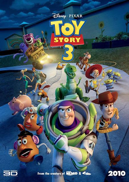 Cartel de la película de Disney Pixar Toy Story 3
