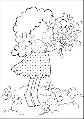 tinkerbell coloring sheets: Free Printable Spring