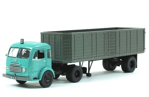 ford cargo remorqueur 1/43 ford saf, coleção caminhões articulados altaya, coleção caminhões articulados planeta deagostini, coleção caminhões articulados 1:43