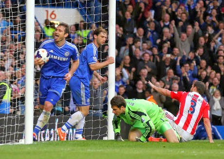Video Cuplikan Gol Chelsea VS Stoke City 3-0