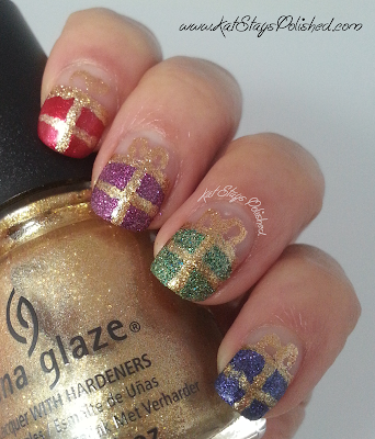 China Glaze Happy HoliGlaze - Holiday Gift Nail Art