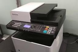 Cara menghubungkan mesin fotocopy kyocera dengan komputer