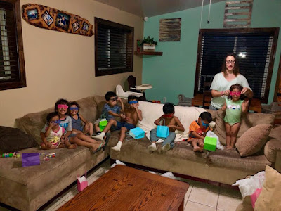 San Diego Upholstery Cleaner cleans for free at Mexican orphanage- 3 Microfiber Sofas and 1 Cloth Covered Couch
