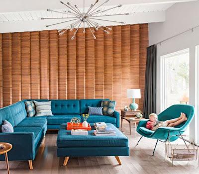 Furniture idea for mid-century interior design